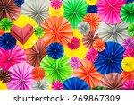Colorful Circle Shape Folding...