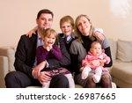 Portrait Of Happy Family...