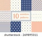 Set Of Ten Seamless Patterns I...