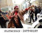 new york city   april 14 2015 ... | Shutterstock . vector #269948189