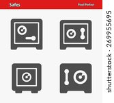 safes icons. professional ... | Shutterstock .eps vector #269955695