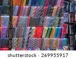 italian made silk tie on... | Shutterstock . vector #269955917