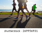 group of runners compete in the ... | Shutterstock . vector #269956931