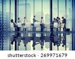 diversity business people... | Shutterstock . vector #269971679