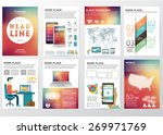 big set of infographics... | Shutterstock .eps vector #269971769