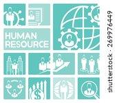 human resource management... | Shutterstock .eps vector #269976449