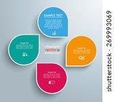 infographic design white... | Shutterstock .eps vector #269993069