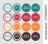 price match label vector... | Shutterstock .eps vector #270004097