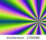 abstract page design background illustration starburst - stock photo