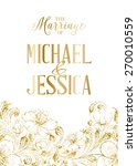 Marriage Card Template With...