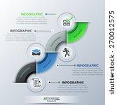 modern infographics process... | Shutterstock .eps vector #270012575