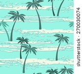 seamless pattern with sea and... | Shutterstock .eps vector #270030074