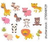 baby animals | Shutterstock .eps vector #270048929