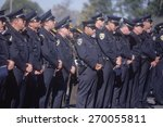 police officers at funeral... | Shutterstock . vector #270055811