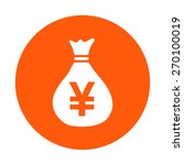 money bag icon.yen jpy currency ...