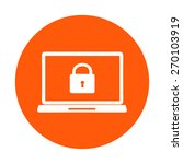 internet security concept  icon.... | Shutterstock .eps vector #270103919