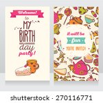 invitation for birthday party ... | Shutterstock .eps vector #270116771