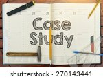 notebook with the note in the... | Shutterstock . vector #270143441