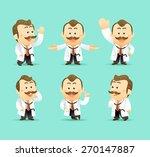 set of doctor | Shutterstock .eps vector #270147887