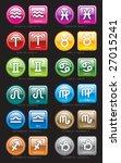 horoscope | Shutterstock .eps vector #27015241