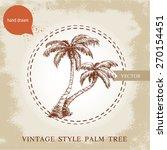 Hand Drawn Coco Palm Trees...