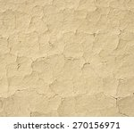 Cracked Mud Plaster Wall...