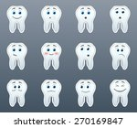 the most beautiful white teeth... | Shutterstock .eps vector #270169847