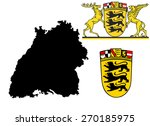 great coat of arms of baden...
