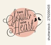 Two Souls One Heart Hand...