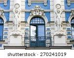 jugendstil house in  the... | Shutterstock . vector #270241019