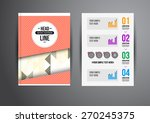 flyer  brochure design... | Shutterstock .eps vector #270245375