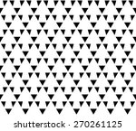 black and white color up arrow... | Shutterstock .eps vector #270261125