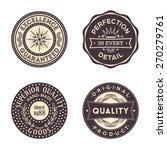 original quality vintage... | Shutterstock .eps vector #270279761