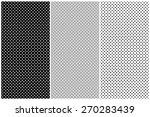 dots pattern vector set | Shutterstock .eps vector #270283439
