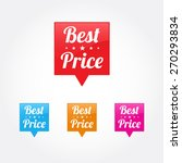 best price tags | Shutterstock .eps vector #270293834