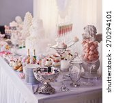 dessert table for a party.... | Shutterstock . vector #270294101