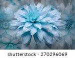 blue flowers   Shutterstock . vector #270296069