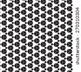 black and white graphic pattern ... | Shutterstock .eps vector #270310304