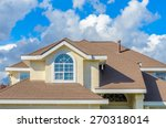 the roof of the house with nice ... | Shutterstock . vector #270318014