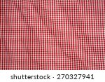 The White And Red Checkered...