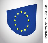 flag of european union eu.... | Shutterstock .eps vector #270333335