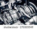 car engine closeup | Shutterstock . vector #270335549