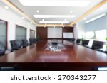 fuzzy conference room   Shutterstock . vector #270343277
