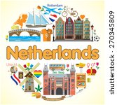 netherlands round background....
