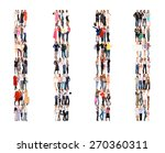 standing together business... | Shutterstock . vector #270360311