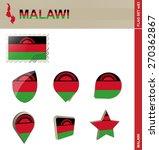 malawi flag set  flag set  83.... | Shutterstock .eps vector #270362867