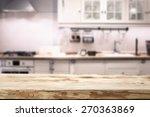 kitchen background  | Shutterstock . vector #270363869