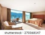 modern architecture  interior ... | Shutterstock . vector #270368147