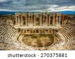 Hierapolis Theatre  Pamukkale...