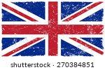 Grunge Great Britain Flag...